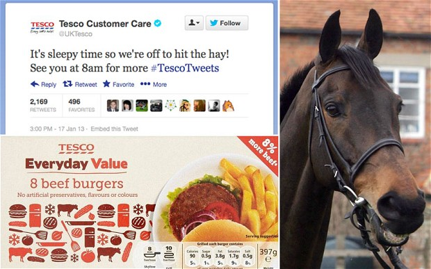 Time to hit they hay - #TescoTweets