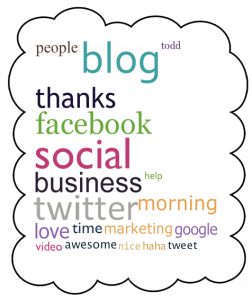 SocialMedia Tweetcloud