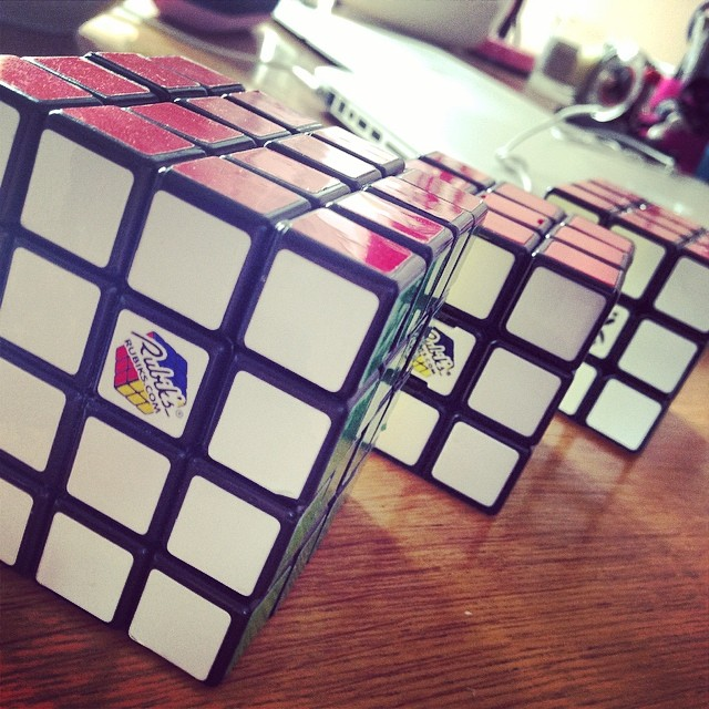 Rubik's Cube - Graham Todd on Instagram