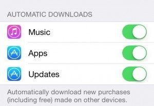iOS7 App updates