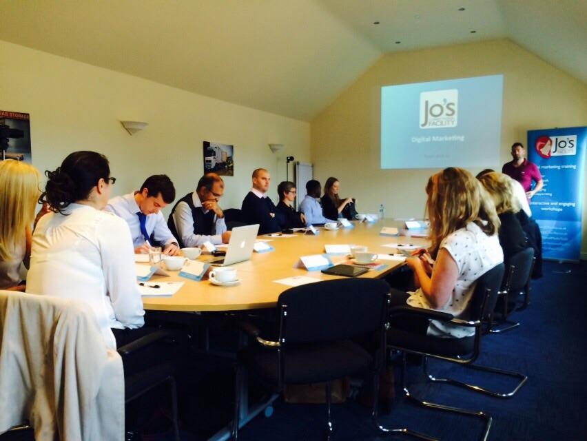 Digital marketing and social media training workshop in Leamington Spa