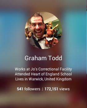 +GrahamTodd on Google+