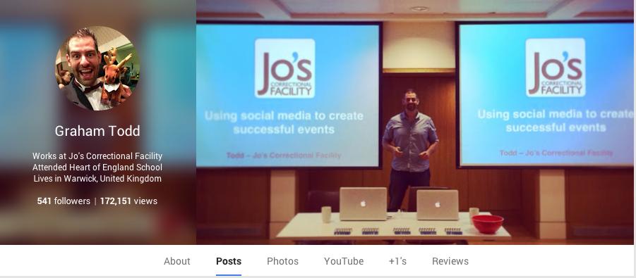 +GrahamTodd (Social Media Todd) on Google+
