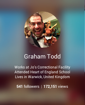 +GrahamTodd on Google+