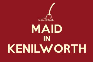 Maid in Kenilworth - local webiste built on WordPress