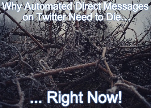 Automatted Direct messages on Twitter