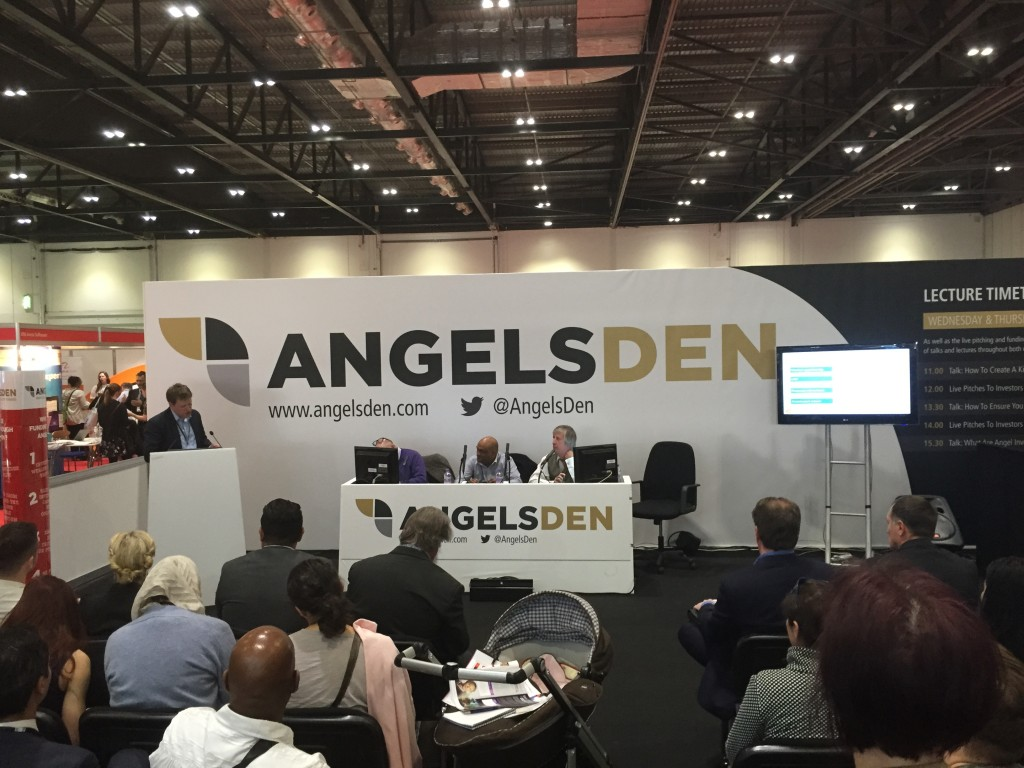 Angels Den at The Business Networking Show