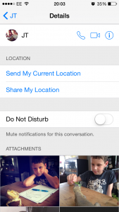 Find images on iMessage on your iPhone