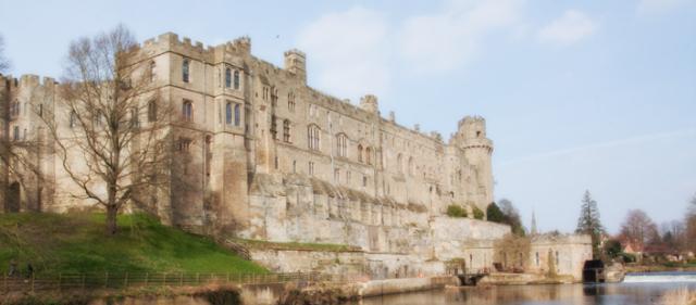 Warwick Castle in Warwickshrie