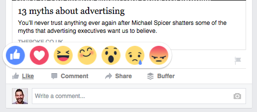 Facebook Reactions Could Affect Your Business Page Reach?