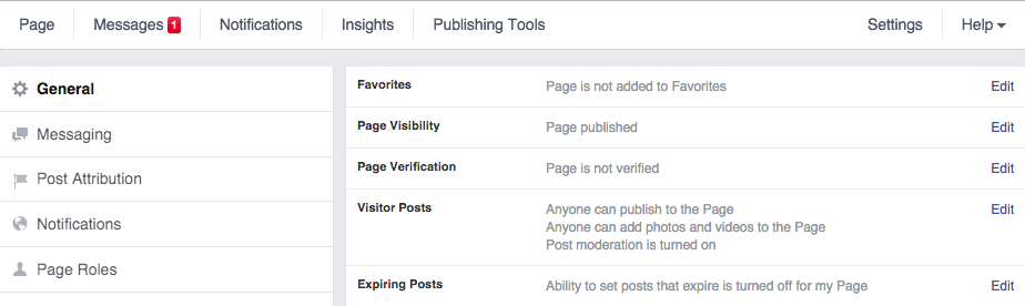 Verifying your local business page on Facebook