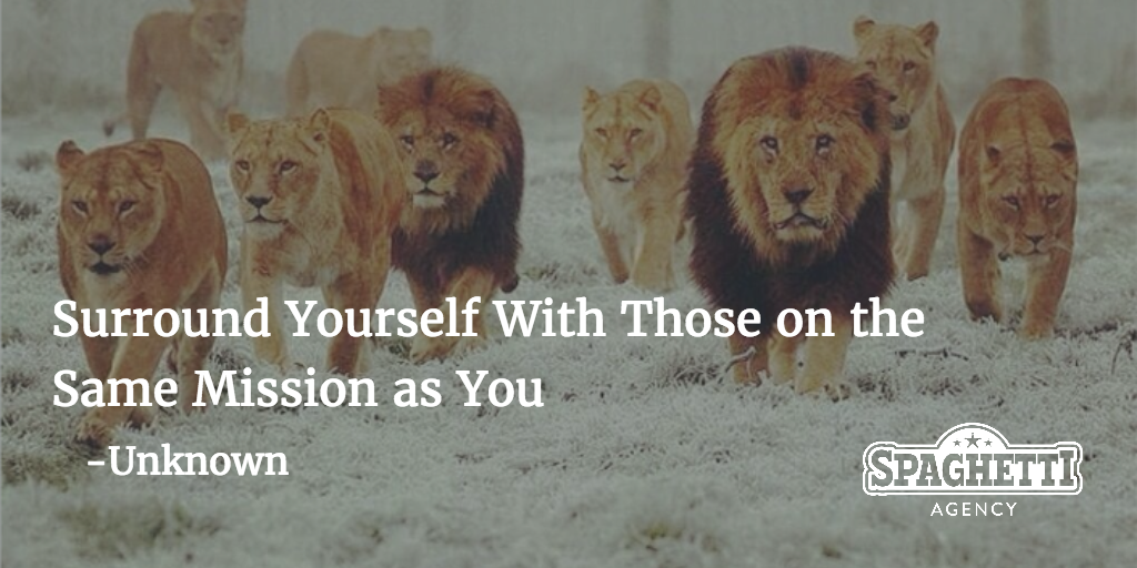 Surround Yourself With Those on the Same Mission as You - Networking Tips