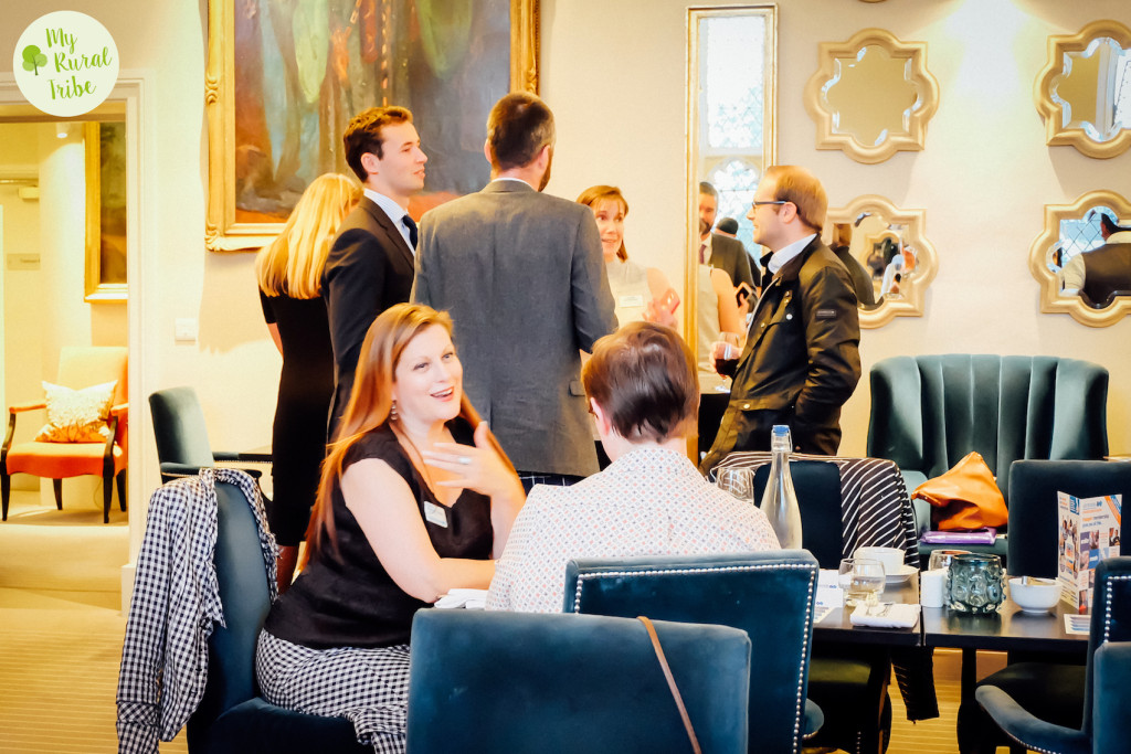 Evening networking in Leamington Spa at Binswood Hall