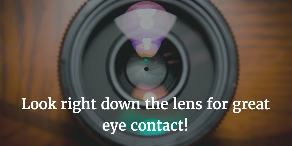 Look down the lens of your smartphone