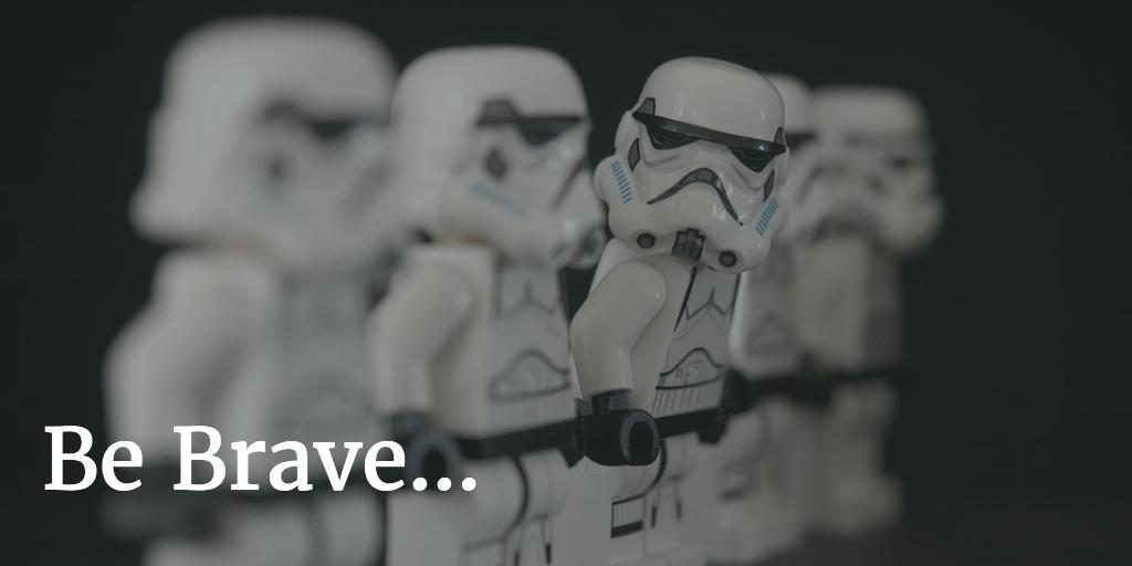 Be brave... get one Facebook Live