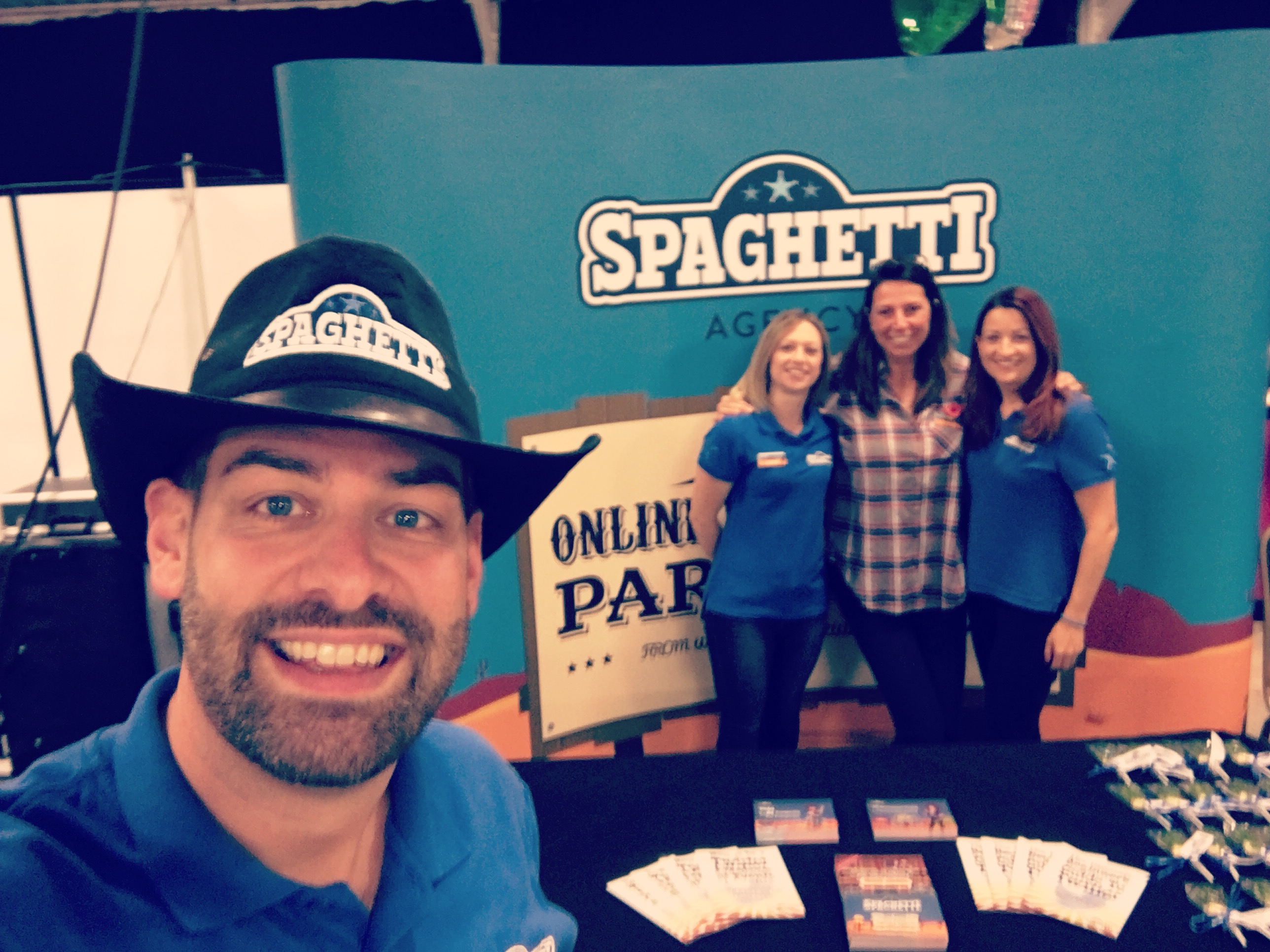 Spaghetti Agency at the Coventry and Warwickshire Chamber Expo 2016