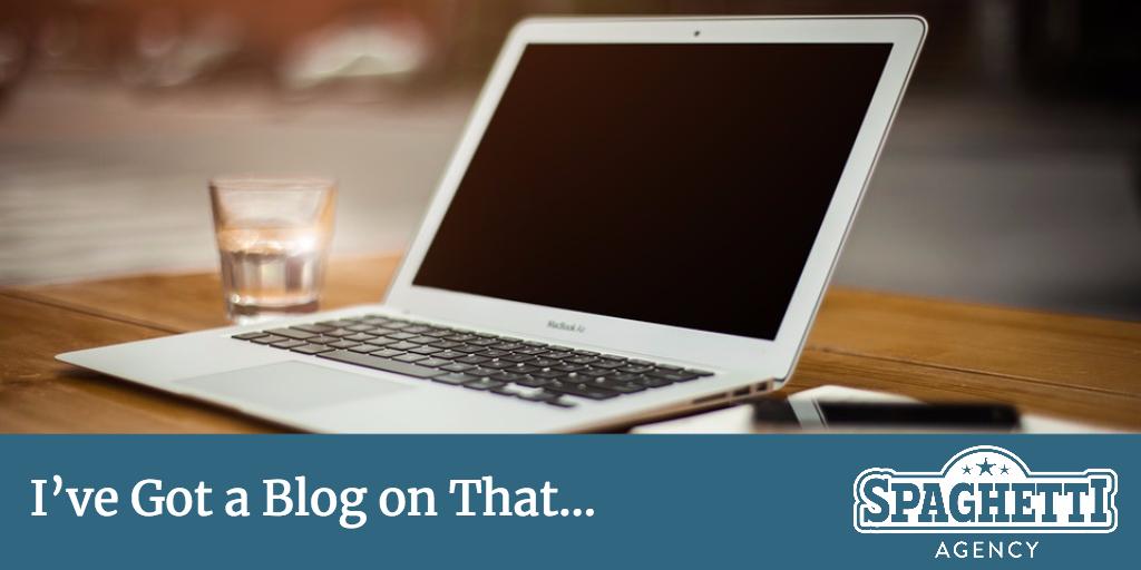 I've Got a Blog on That...