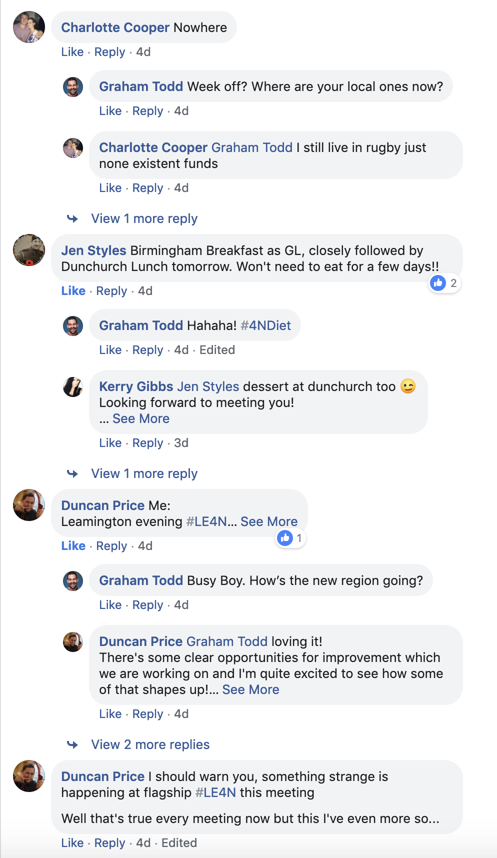 Driving engagement in Facebook groups