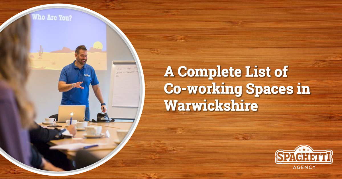 List of Co-working Spaces in Warwickshire – Updated 2019