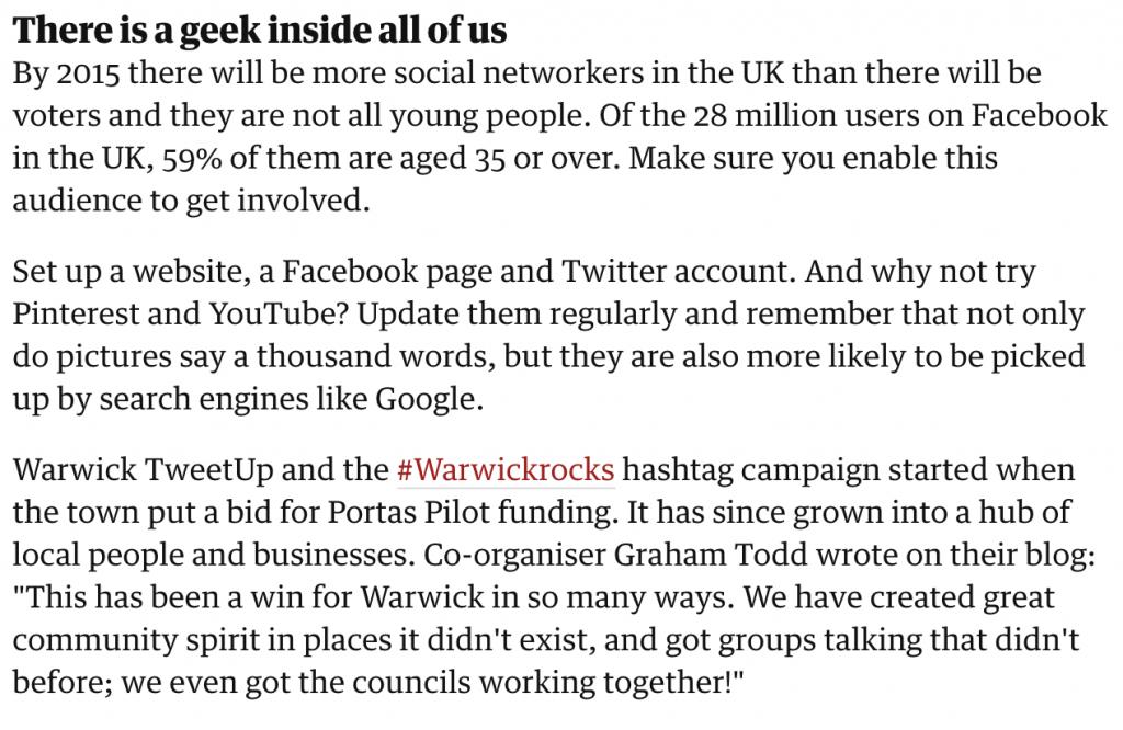 WarwickRocks - Graham Todd