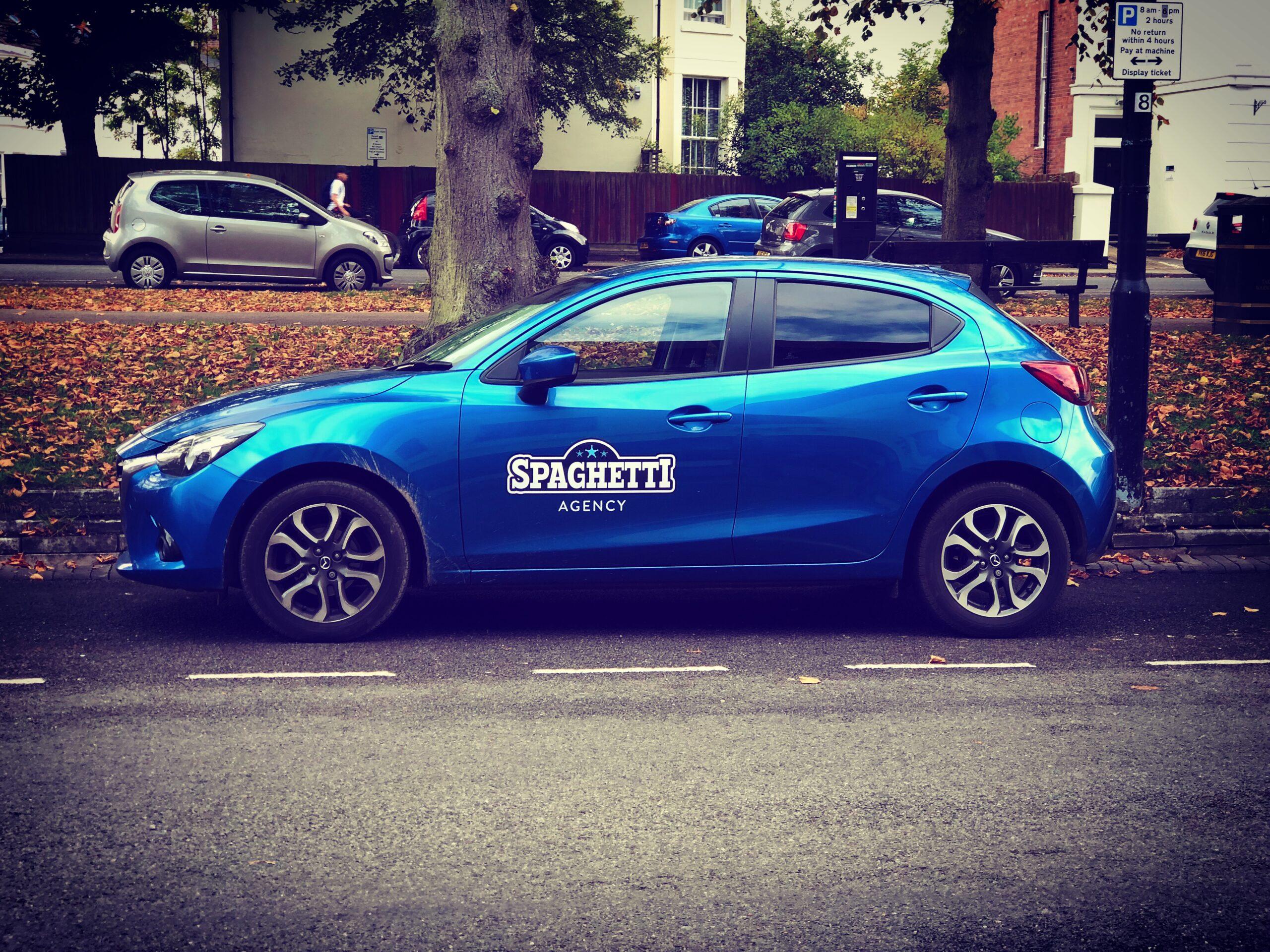 Car Branding Marketing Spaghetti Agency