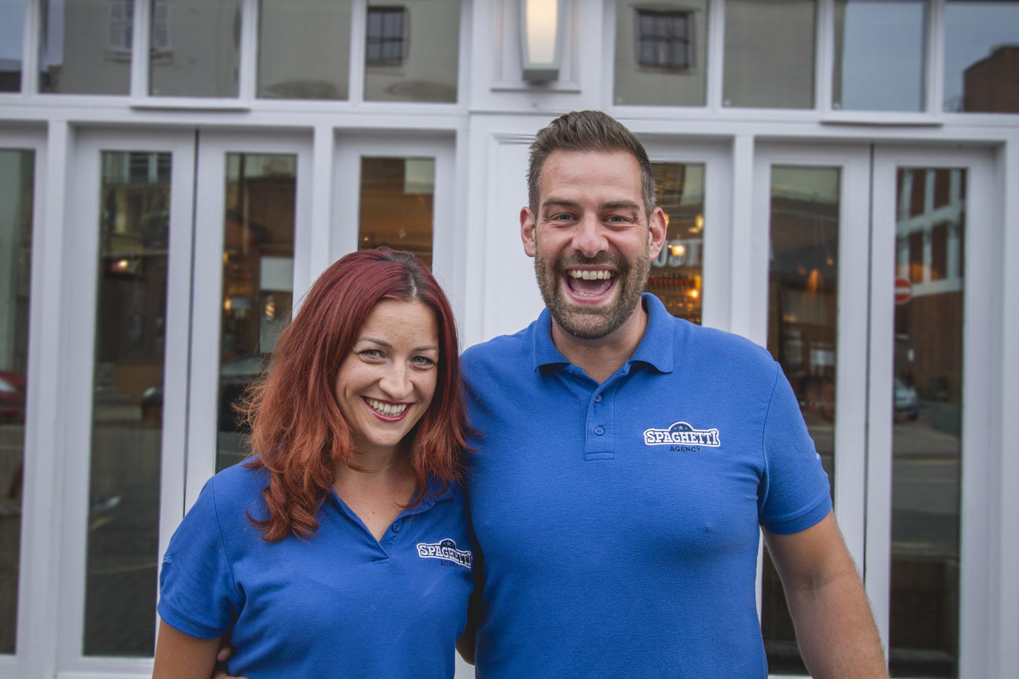 Todd and Jo, Spaghetti Agency in Warwick